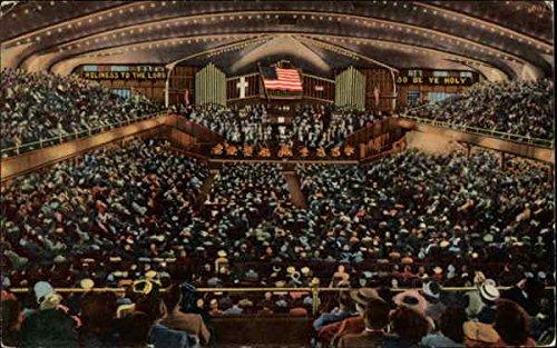 Interior of Methodist Auditorium showing Largest Organ in the World Original Vintage Postcard (Best Auditoriums In The World)