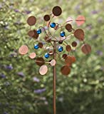 Midi Garden Metal Wind Spinner, Copper
