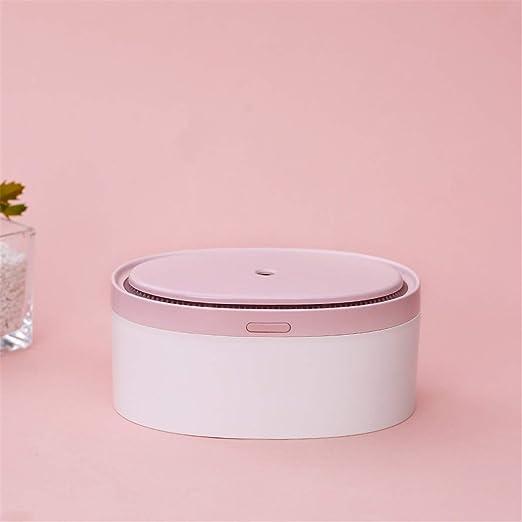NO BRAND Humidificador de Aire del Coche purificador Mini USB humidificador Cama Sleep Aid aromaterapia Máquina humidificador (Color : Pink): Amazon.es: Hogar