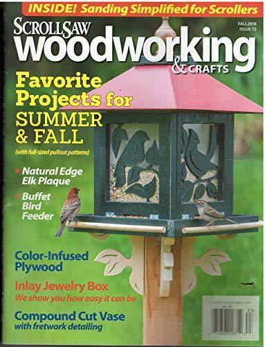 Scroll saw Woodworking & Crafts Magazine Fall 2018 ()