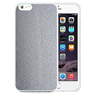 New Beautiful Custom Designed Cover Case For iPhone 6 Plus 5.5 Inch With Water Droplets On Glass (2) Phone Case