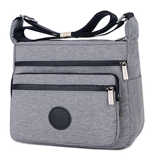 Cute Pugs Waterproof Leather Folded Messenger Nylon Bag Travel Tote Hopping Folding School Handbags