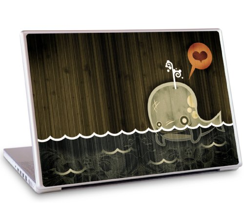 GelaSkins Protective Skin for 17 PC and Mac Laptops - The Enamored Whale