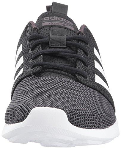 Chaussure De Course Adidas Neo Mens Cf Swift Racer Noir / Blanc / Utilitaire Noir
