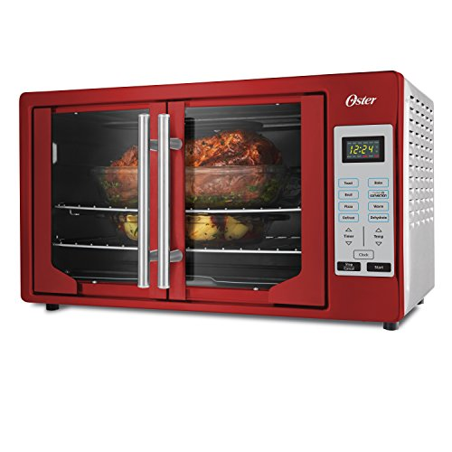 Oster TSSTTVFDDG-R French Door Toaster Oven, Extra Large, Red 2