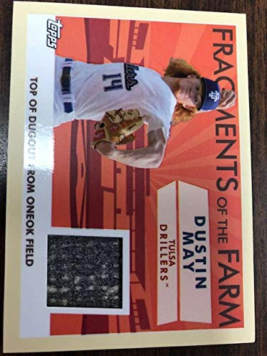 2019 Topps Pro Debut Fragments of the Farm Relic #FOF-TR Tristen Lutz MEM Wisconsin Timber Rattlers Official MILB Baseball Trading Card from Pro Debut