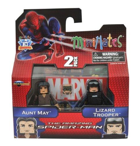 Minimates Marvel Comics Series 46: The Amazing Spider-Man Aunt May & Lizard Trooper 2 inch Mini Figure 2-Pack by Art Asylum