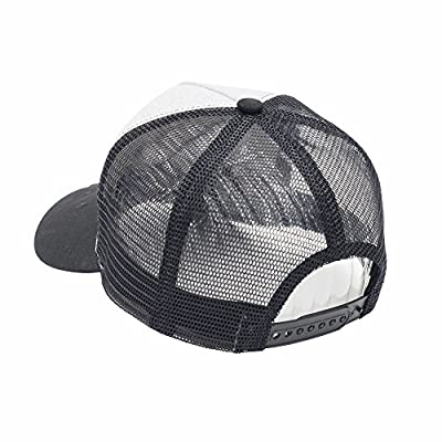 iMaxime Wearable Live Streaming Hat Cap Camera HD 1080P Spy Hat Cap Hidden Camera For Biking Cycling Hiking Fishing Outdoor Sports (SmileRed) (Grey)