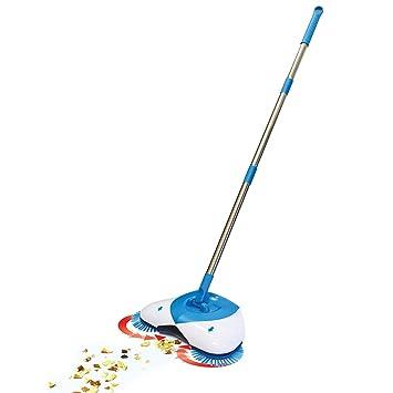 Swabs� Brooms Sweeper Steel Multifunction 360 Degree Rotating Sweeper Hand Push Vacuum Floor Cleaner Automatic DustpanAutomatic Hand Push Sweeper