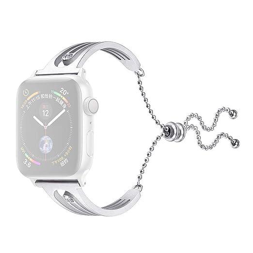 Webla Correa de reloj Milano para Apple Watch Serie 4 en acero ...