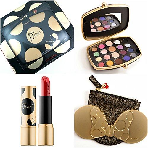 Sephora Disney Minnie Mouse Eyeshadow Palette Mirror & Lipstick Set by Sephora