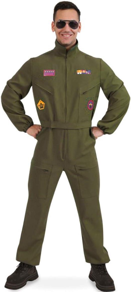 Flieger Overall für Kinder Kombi Anzug US Pilot Karneval Outdoor Fasching
