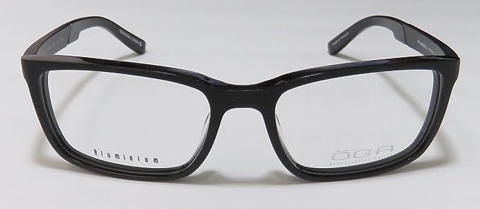 561d1d0c4a53 Amazon.com  Oga By Morel 7769o For Men Designer Full-Rim Shape Spring  Hinges European Stunning Authentic Hip Eyeglasses Eyeglass Frame  (53-17-140