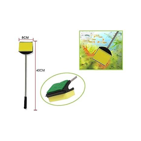 Cisne 2013, S.L. Kit 2 en 1 de Limpieza de pecera con Esponja y rascador