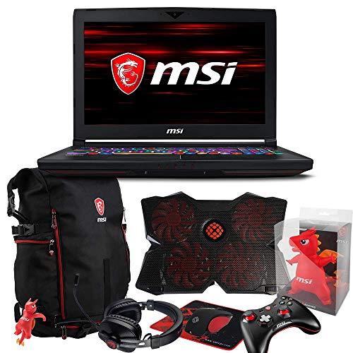 MSI GT63 TITAN-046 Pro Extreme (i7-8750H, 32GB RAM, 1TB NVMe SSD + 1TB HDD, NVIDIA GTX 1080 8GB, 15.6