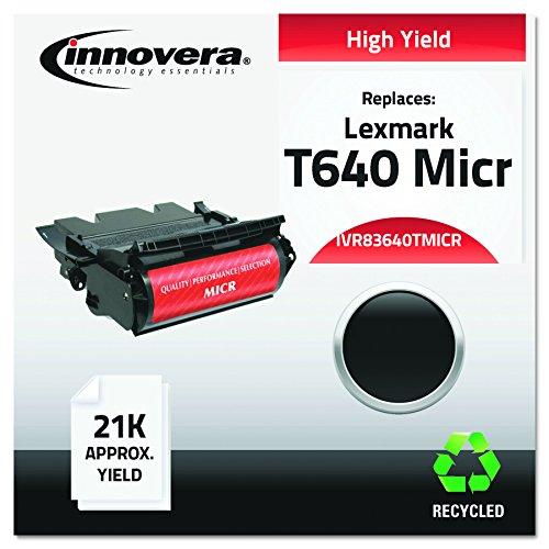 Innovera 83640TMICR Remanufactured 64015HA(M) (T640M) High-Yield MICR Toner, Black