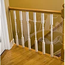 Cardinal Gates KS-15-P 15-Foot Gates Banister Shield for Pets Roll, Clear
