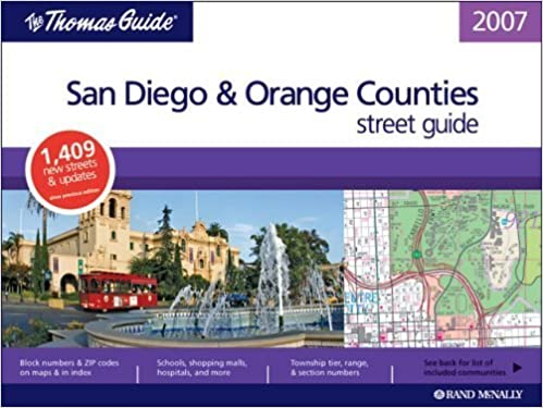 Book The Thomas Guide 2007 San Diego & Orange County street guide (2006-08-14)