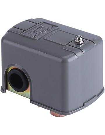 FTVOGUE 40-60PSI 110V-230V Water Pump Pressure Control Switch Adjustable Double Spring Pole