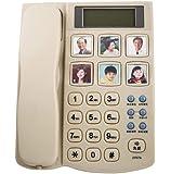 家庭用固定電話、発信者番号通知電話、高齢者専用電話、家庭での使用、居間の寝室用オフィス