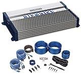 Hifonics BXX1200.4 1200 Watt RMS 4-Channel Car Stereo Amplifier Brutus+Amp Kit