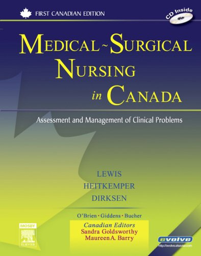 Medical-Surgical Nursing in Canada: Assessment and