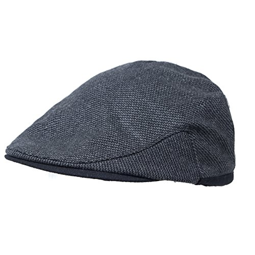 Dark Gray, Size Medium - Wool Blend Winter Ivy Hat with Ear Flaps