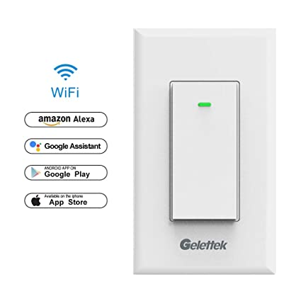 Wi fi smart wall light switch touch voice and remote control wi fi smart wall light switchtouchvoice and remote control lights and aloadofball Images