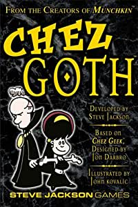 Chez Goth 2nd Edition Card Game