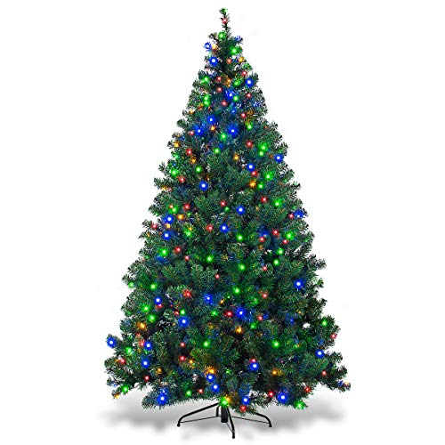 Artificial Christmas Tree Prelit Led Lights in US - 2