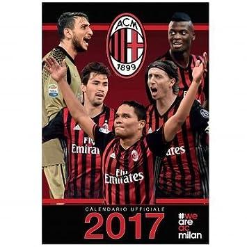 Milan Ac Calendrier.Ac Milan Serie A 2017 Football Calendrier Amazon Fr Sports