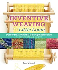 Rigid-heddle weaving is simple to learn, is easy to master, and offers a lifetime of possibilities to discover! Inventive Weaving on a Little Loom covers everything rigid-heddle weavers need to know about the craft, from the basics — h...