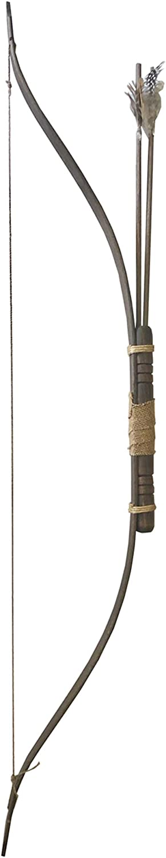 Riproduzione per Giochi di Ruolo Arco Medioevale in Legno di faggio cm 130 Cosplayer e rievocazioni storiche