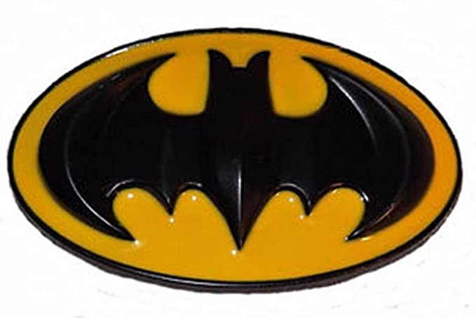 Amazon Dc Comics Batman Bat Symbol Enamel Finish Metal Belt