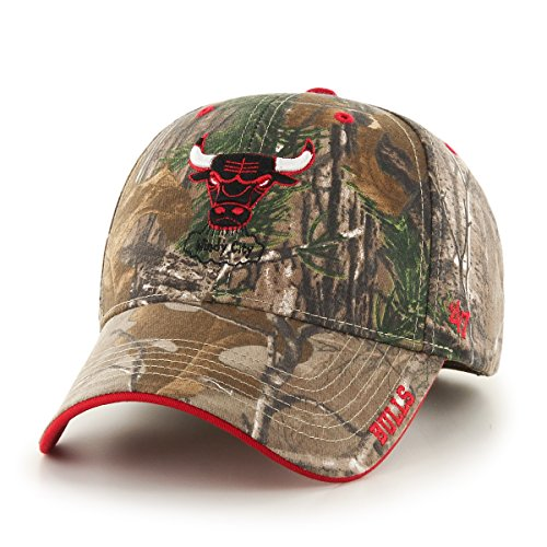 (NBA Chicago Bulls '47 Frost MVP Camo Adjustable Hat, One Size Fits Most, Realtree Camouflage)
