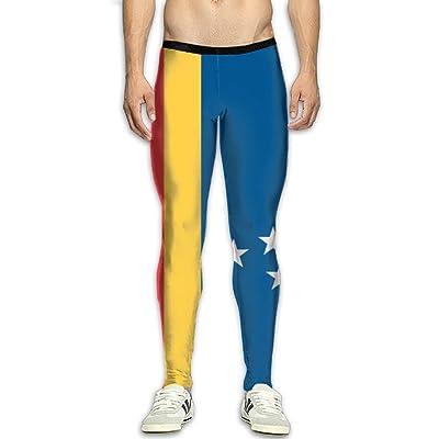 Flag Of Durham North Carolina Attractive Men 3D Printed Athletic Running Pants Training Pant