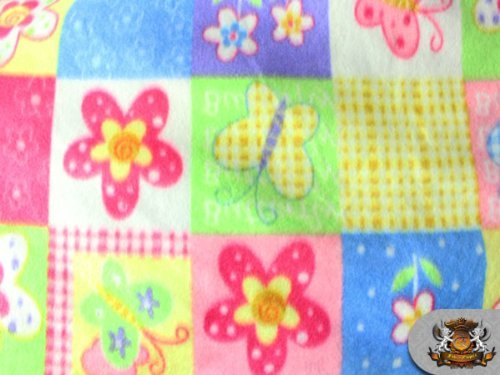 Printed Fleece Fabric - 3