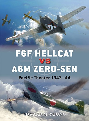 F6F Hellcat vs A6M Zero-sen: Pacific Theater 1943-44 for sale  Delivered anywhere in USA