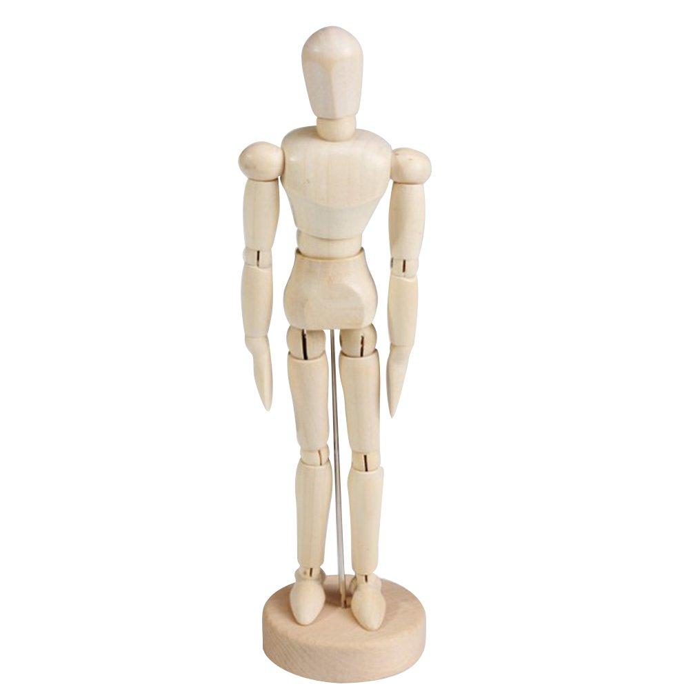 TOYMYTOY Manichino per disegno in lengo Modello snodabile umano per artisti pittura belle arti 4.5