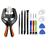 BOENFU LCD Screen Opening Tools Opening Pliers, 12PCS Repair Tool Kit of Opening Touch Screen or Shell with Super Strong Suction Cup for iPhone, iPad, iPod, Samsung Galaxy, Huawei and More