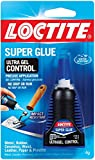 Loctite 1363589-6 Ultra Gel Control Super Glue, 4g Bottles (Case of 6)