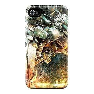 Premium Tpu Transformers Robot War Cover Skin For Iphone 4/4s