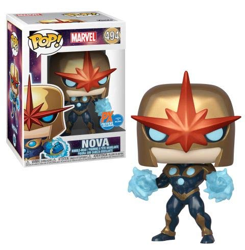 Pop! Marvel: Nova Prime Vinyl Fi...