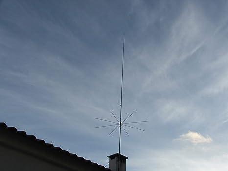 Sirio Antenna 827 (26 4-28 4 MHz) 5/8 Wave 3000W Tunable 10M & CB Base  Antenna