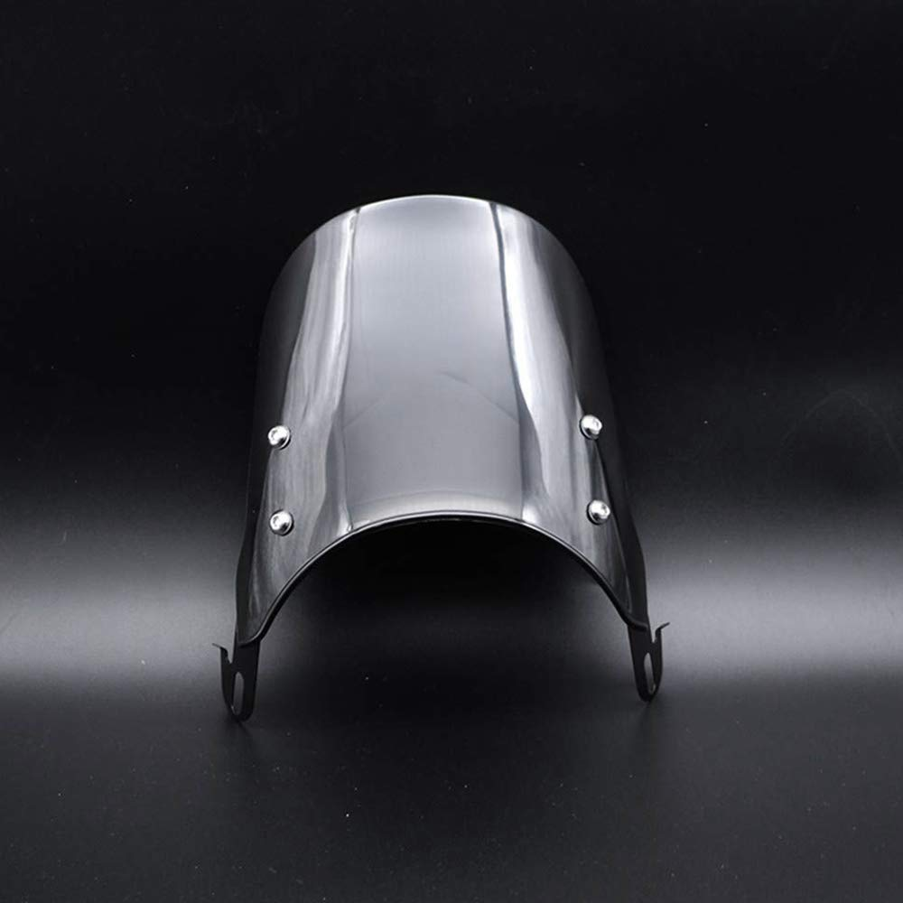Andifany Airflow Adjustable Universal Motorcycle Headlight Windshield Windscreen Wind Deflector Motorcycle Universal Accessories
