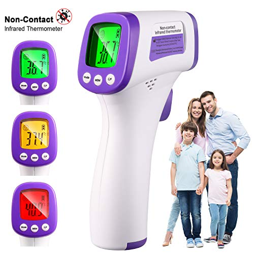 TECCPO Thermometer 3-Color LCD