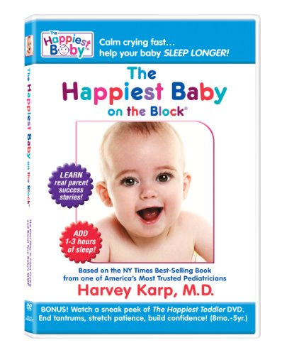 Baby Crying and Colic Baby: The Happiest Baby on the Block: The New Way to Calm Crying and Help Your Baby Sleep Longer (DVD)