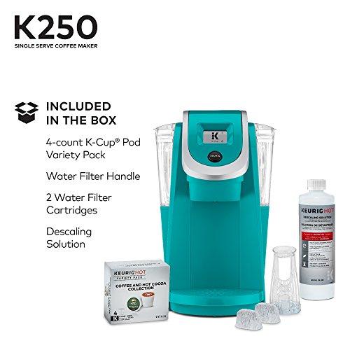 Keurig 119277 K250 Coffee Maker, Turquoise