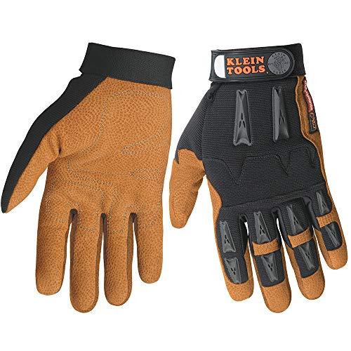 Klein Tools 40067 Journeyman Leather Work Gloves ()