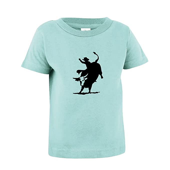 8e9957f3 Rodeo Cowboy Bull Riding Toddler Baby Kid T-Shirt Tee Chill 4T